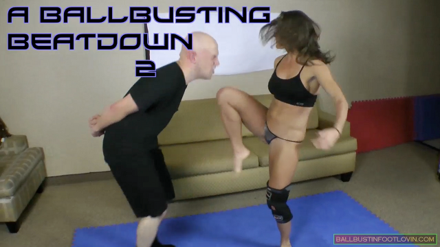 A Ballbusting Beatdown 2