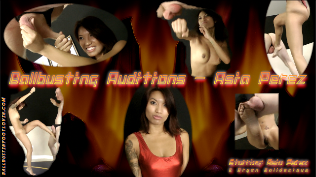 Ballbusting Auditions - Asia Perez