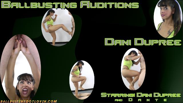 Ballbusting Auditions - Dani Dupree