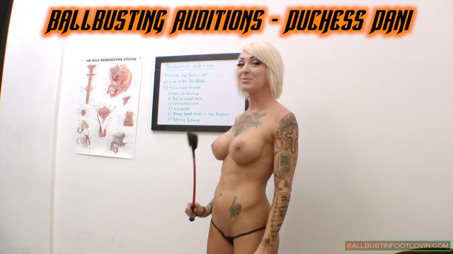 Ballbusting Auditions - Duchess Dani