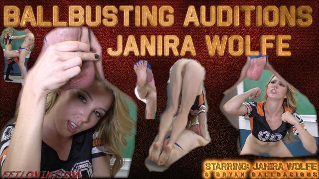 Ballbusting Auditions - Janira Wolfe