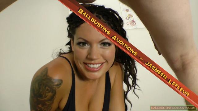 Ballbusting Auditions - Jasmeen Lefleur