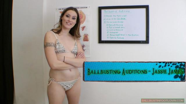 Ballbusting Auditions - Jassie James