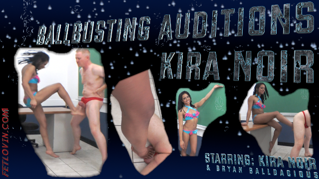 Ballbusting Auditions - Kira Noir