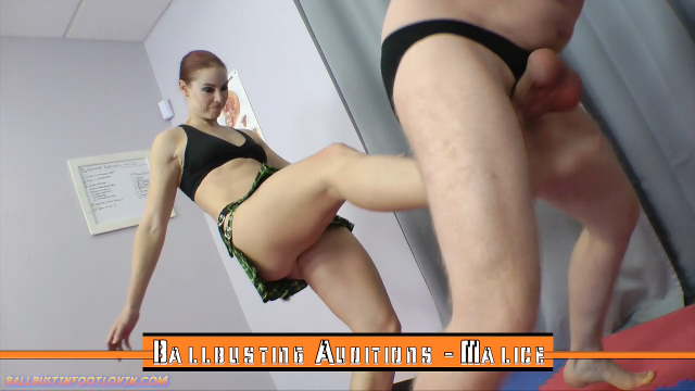 Ballbusting Auditions - Malice