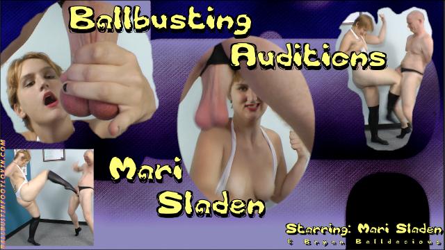 Ballbusting Auditions - Mari Sladen