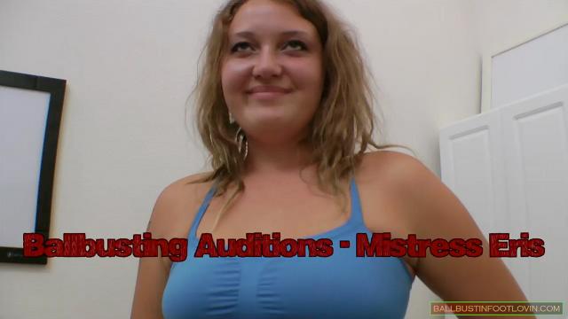 Ballbusting Auditions - Mistress Eris