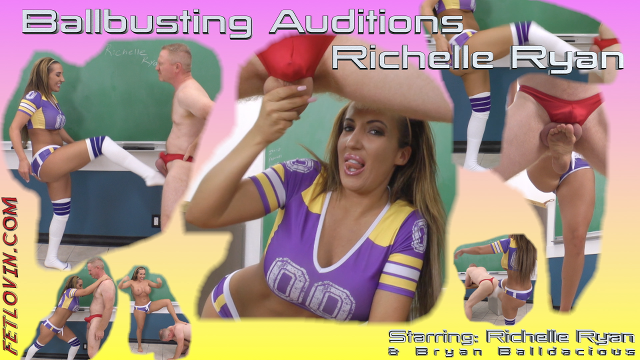 Ballbusting Auditions – Richelle Ryan