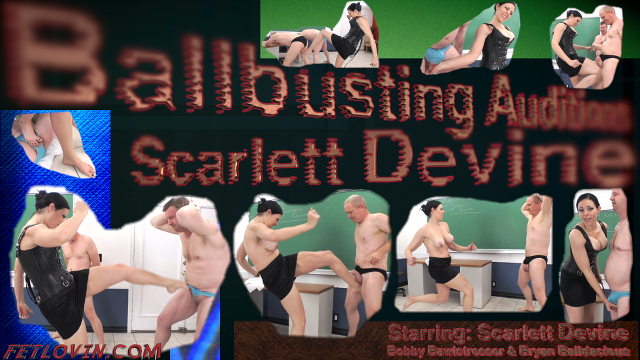 Ballbusting Auditions – Scarlett Devine