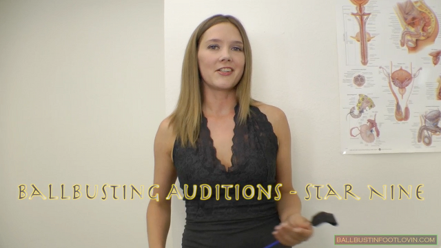 Ballbusting Auditions - Star Nine