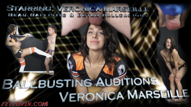 Ballbusting Auditions - Veronica Marseille