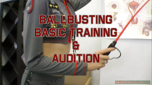 Ballbusting Basic Training & Audition