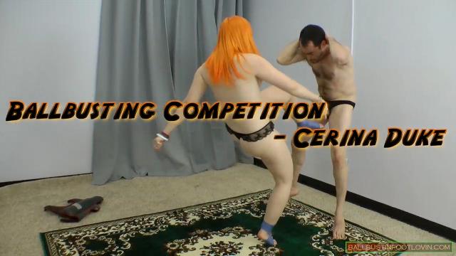 Ballbusting Competition - Cerina Duke