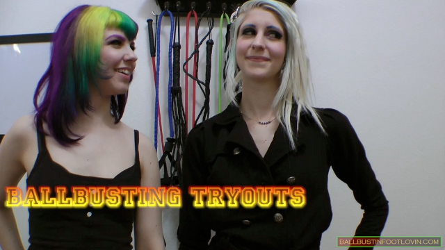Ballbusting Tryouts