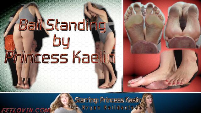 Ball Standing by Princess Kaelin