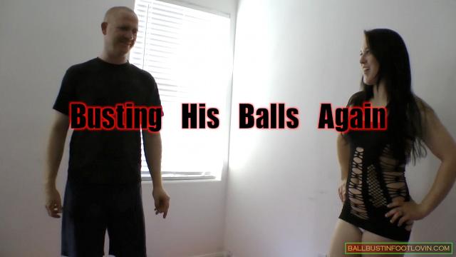 Busting His Balls Again