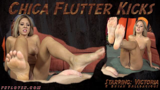Chica Flutter Kicks