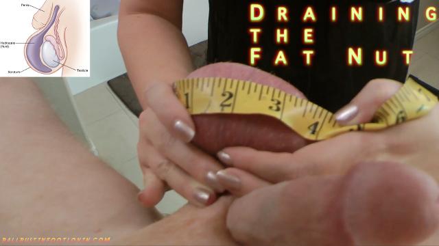 Draining the Fat Nut