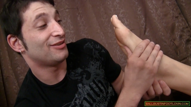 Foot Date with a Perverted Freaky Loser