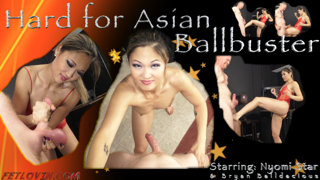 Hard for Asian Ballbuster