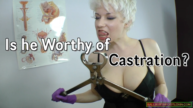 Is he Worthy of Castration?
