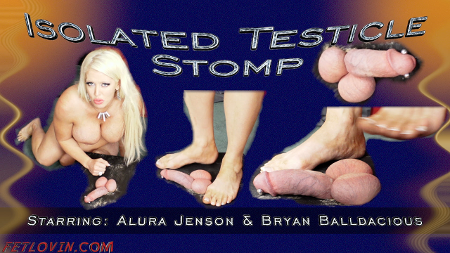 Isolated Testicle Stomp