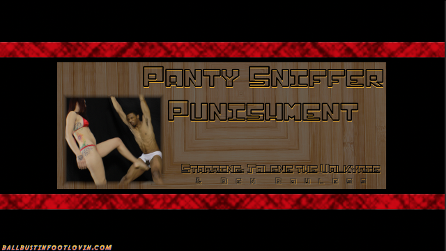 Panty Sniffer Punishment