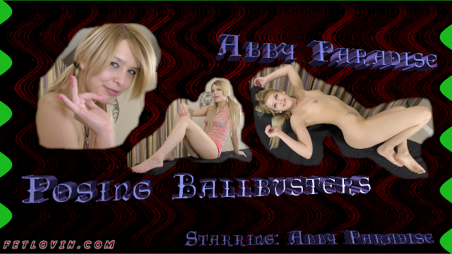 Posing Ballbusters - Abby Paradise