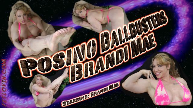 Posing Ballbusters - Brandi Mae