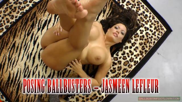 Posing Ballbusters - Jasmeen Lefleur