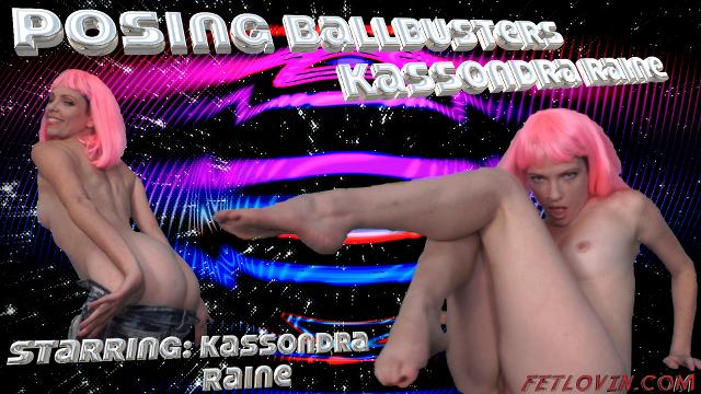 Posing Ballbusters – Kassondra Raine