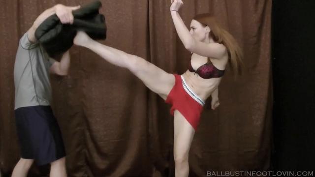 Practice Your Groin Kicks