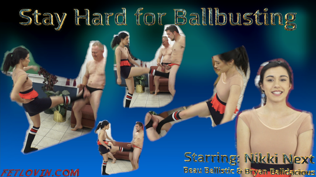 Stay Hard for Ballbusting