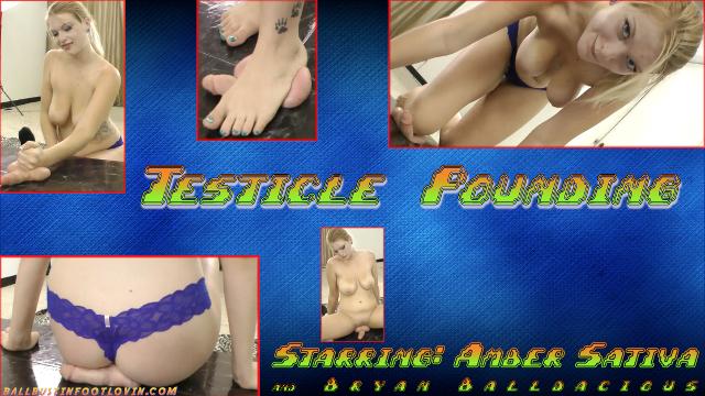 Testicle Pounding