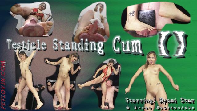 Testicle Standing Cum II