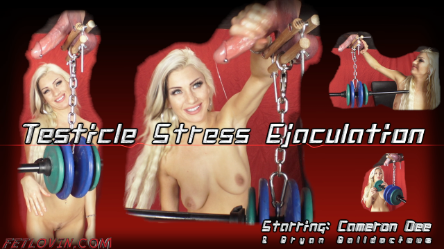 Testicle Stress Ejaculation