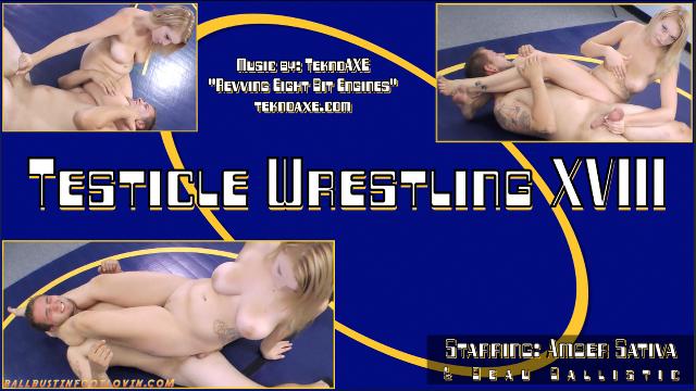 Testicle Wrestling XVIII