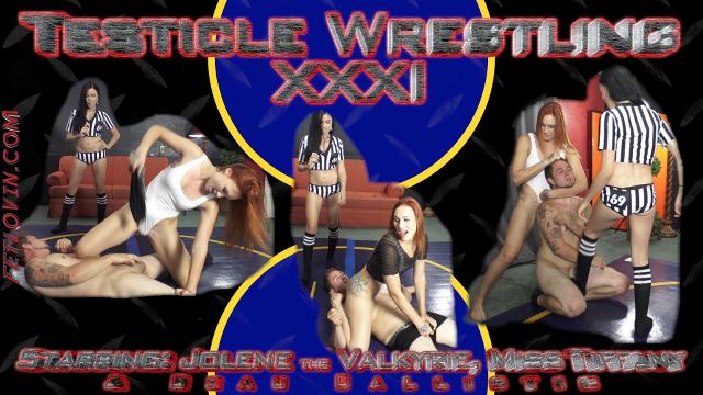Testicle Wrestling XXXI