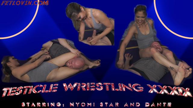 Testicle Wrestling XXXIX