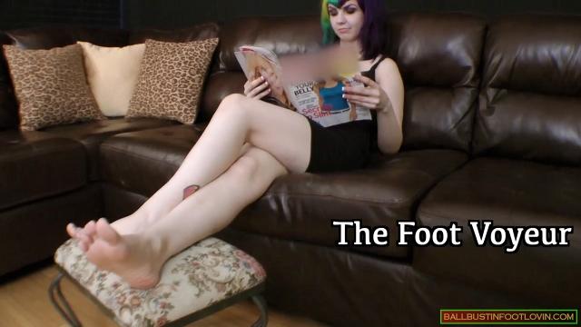 The Foot Voyeur
