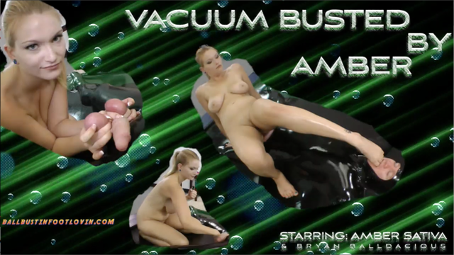 Vacuum Busted by Amber