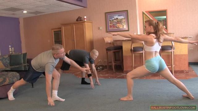 Yoga Ballbusting