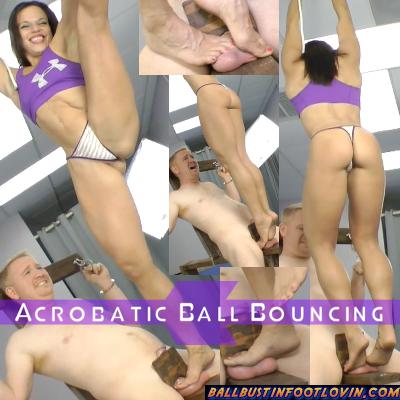Acrobatic Ball Bouncing