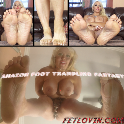 Amazon Foot Trampling Fantasy