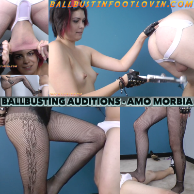 Ballbusting Auditions – Amo Morbia