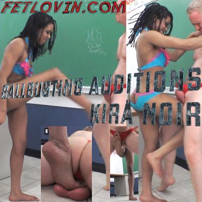 Ballbusting Auditions – Kira Noir