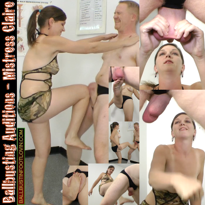 Ballbusting Auditions – Mistress Claire