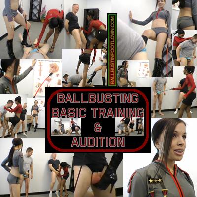 Ballbusting Basic Training & Audition