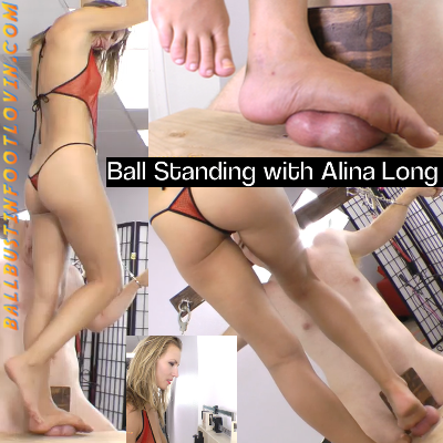 Ball Standing with Alina Long