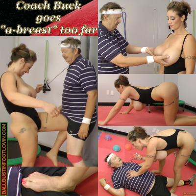 "Coach Buck goes ""a-breast"" too far"